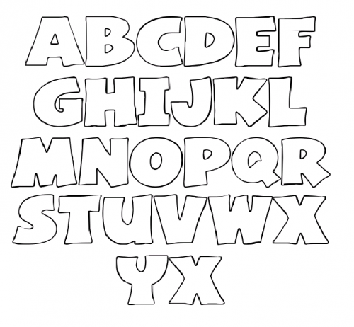 Creating A Free Printable Letter Stencils Promises