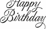 Creative Writing For Cakes Happy Birthday Font Happy