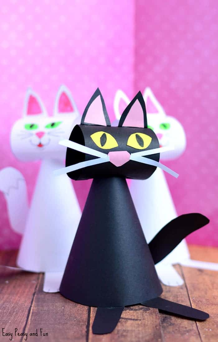 Cuddle Up To These 28 Cat Crafts For Kids Kids Love WHAT