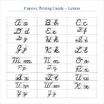 Cursive Writing Template 8 Free Word PDF Documents