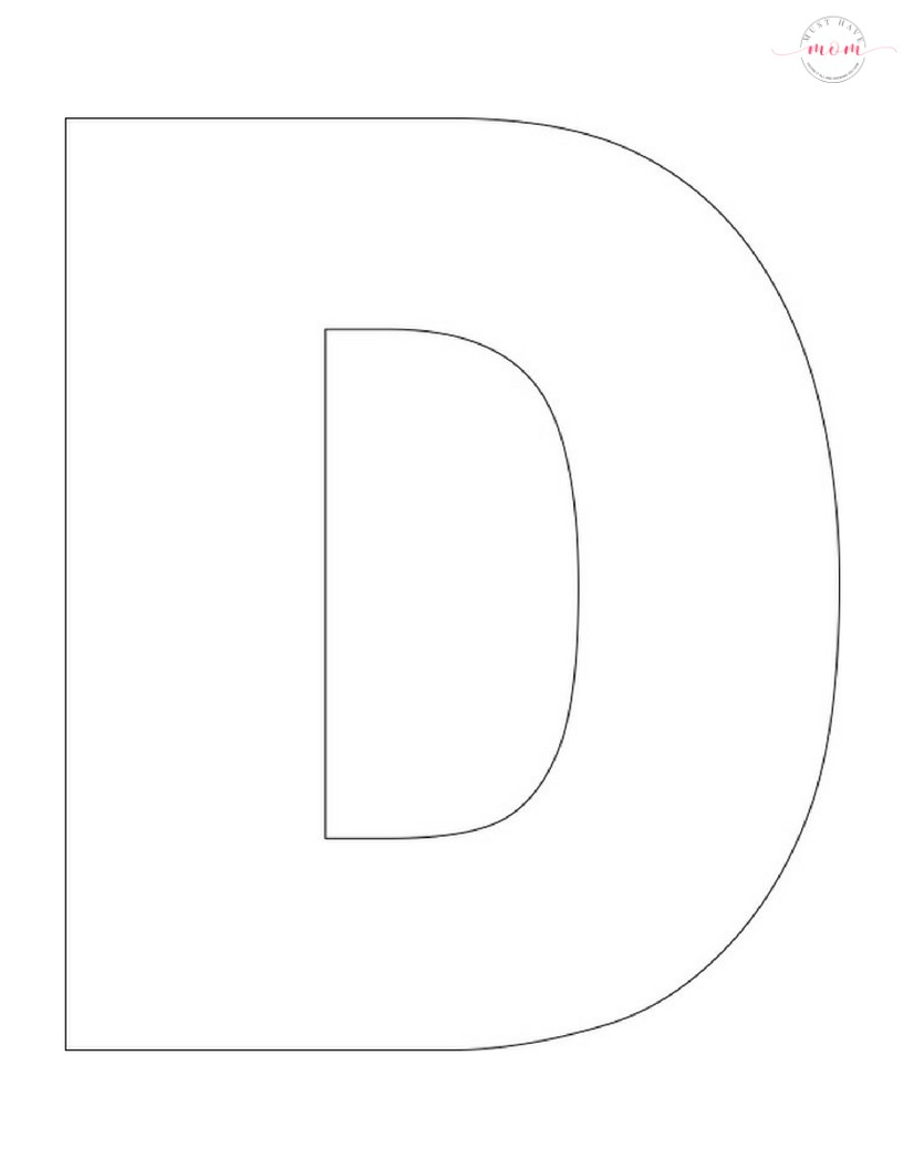 D Is For Desert Letter Craft Free Printables Must Have Mom