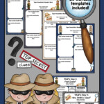 Detective Theme Newsletter Templates Detective Themed