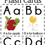 DIY Alphabet Flash Cards FREE Printable Extreme