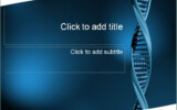 DNA Template DNA PowerPoint Template