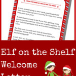 Don t Forget To Print Out This Elf On The Shelf Welcome