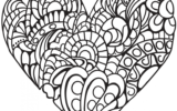 Double Heart Coloring Pages At GetColorings Free