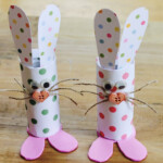 Easter Craft How To Make Toilet Roll Bunnies YouTube