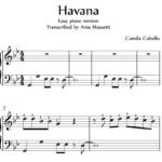 Easy Piano Sheet Music Pdf With Letters Bi coa