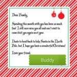 Elf Goodbye Letter Image By CarolnGiff On Elf On The Shelf