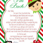 Elf I m Back DIY PRINTABLE Letter By SJPInvitations On