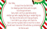 Elf I m Back DIY PRINTABLE Letter By SJPInvitations On Etsy