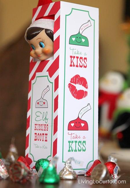 Elf Kissing Booth Elf On The Shelf Ideas POPSUGAR Moms