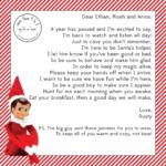 Elf On The Shelf Letter From Santa Template