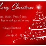 Entertainment World Christmas Cards
