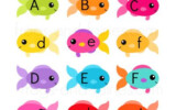 Fish Fishbowls Upper And Lower Case Letter Match Frogs