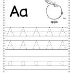 Free Alphabet Tracing Worksheet Alphabet Tracing