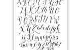 Free Basic Breezy Hand Lettering Exemplar The Postman s