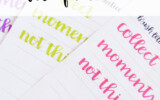 Free Brush Lettering Practice Sheet Jennie Moraitis