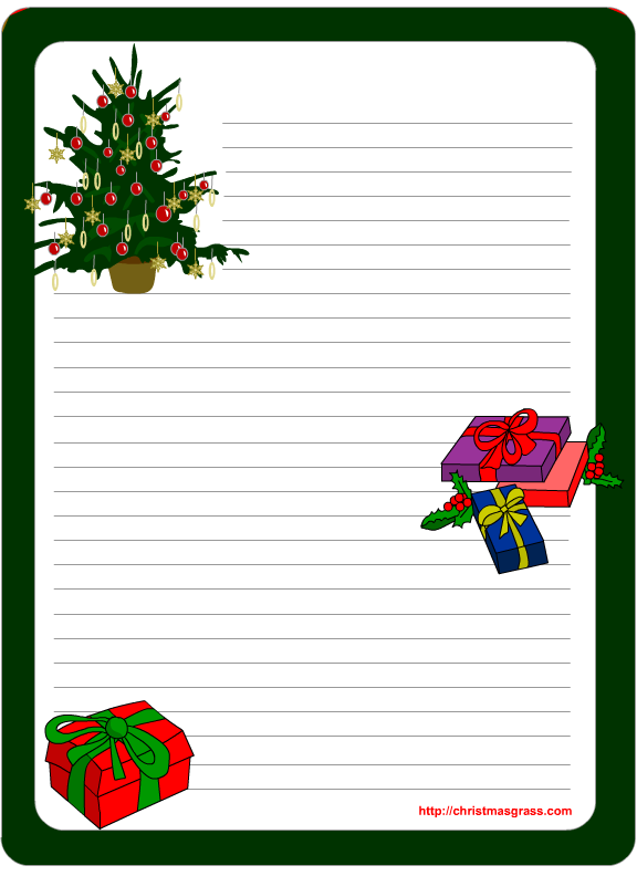Free Christmas Letter Templates Printable Free Template