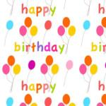 Free Digital Balloon Scrapbooking Paper Ausdruckbares