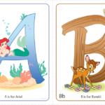 FREE Disney Character Alphabet Printables From Disney