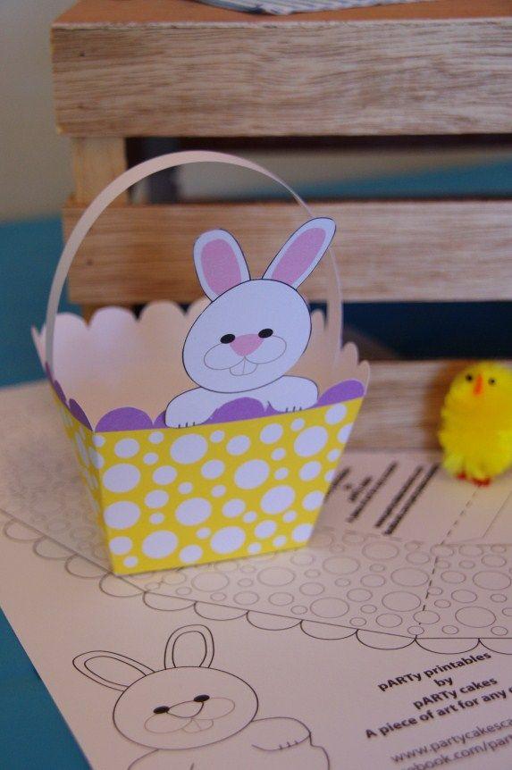 FREE Easter Basket Printables Partycakescanberra