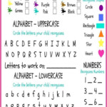 FREE Kindergarten Readiness Checklist Preschool Phonics