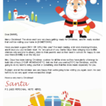 Free Letters From Santa Santa Letters To Print At Home