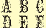 Free Monogram Stencils Printable Stencils Printables