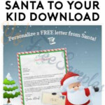 FREE Personalized Letter From Santa After Writing Santa