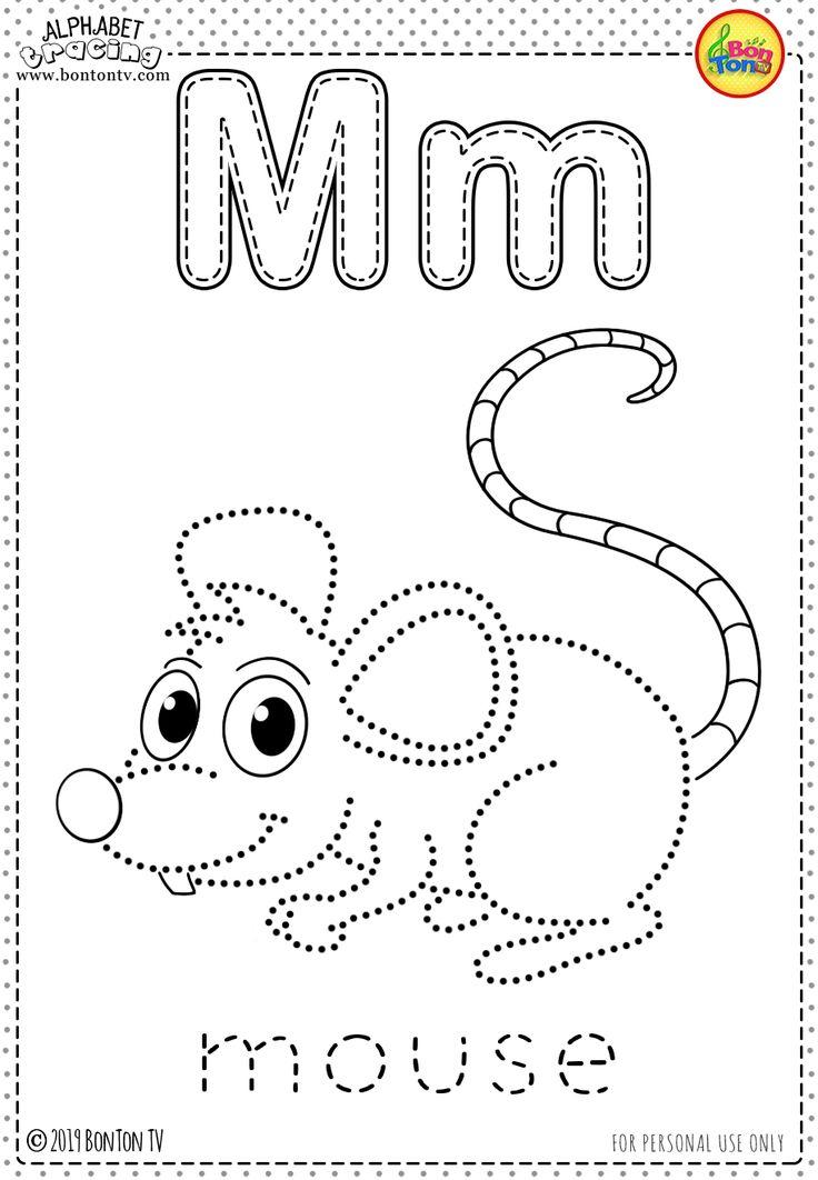 Free Preschool Printables Alphabet Tracing And Coloring