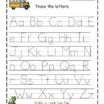 Free Printable Abc Tracing Worksheets 2 Handwriting