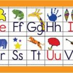 Free Printable Alphabet Desk Strips Alphabet Printables