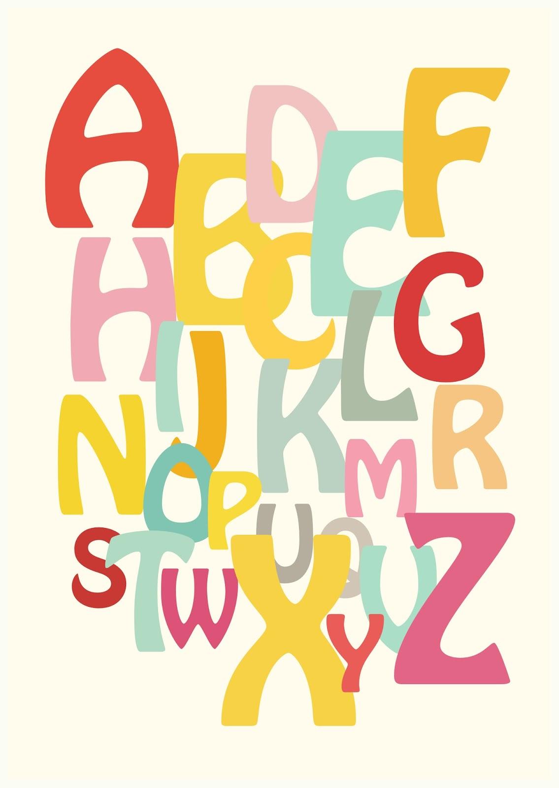 Free Printable Alphabet Scrapbooking Paper And Nursery
