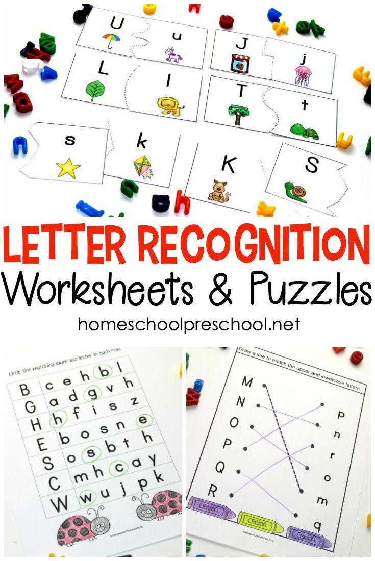 Free Printable Alphabet Worksheets For Preschoolers