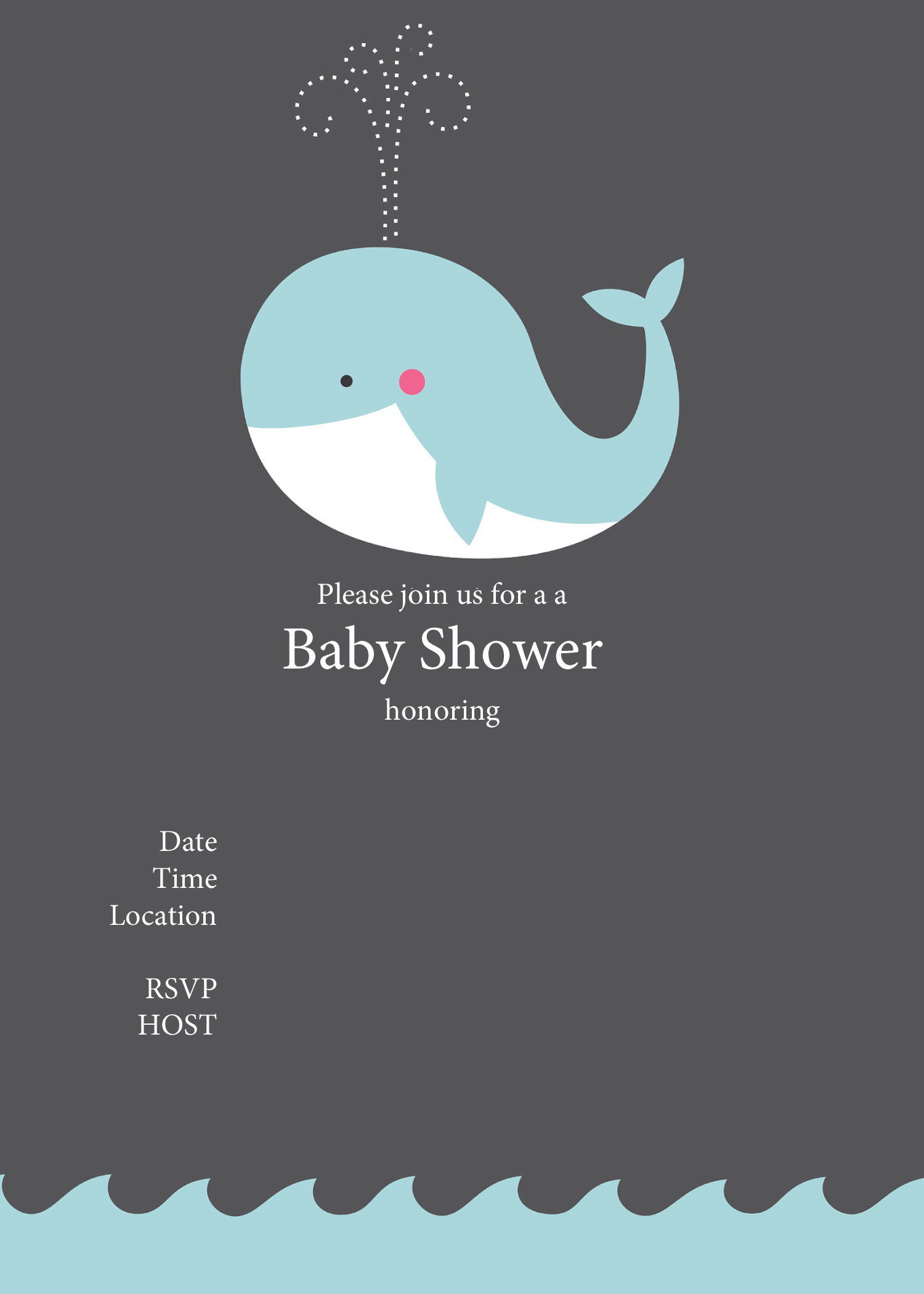 Free Printable Baby Shower Invitations Baby Shower Ideas 4U