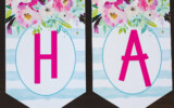 Free Printable Birthday Banner Six Clever Sisters
