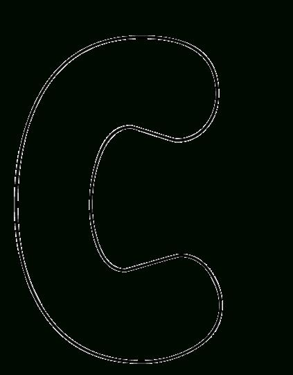 Free Printable Bubble Letters Print Out Bubble Letters