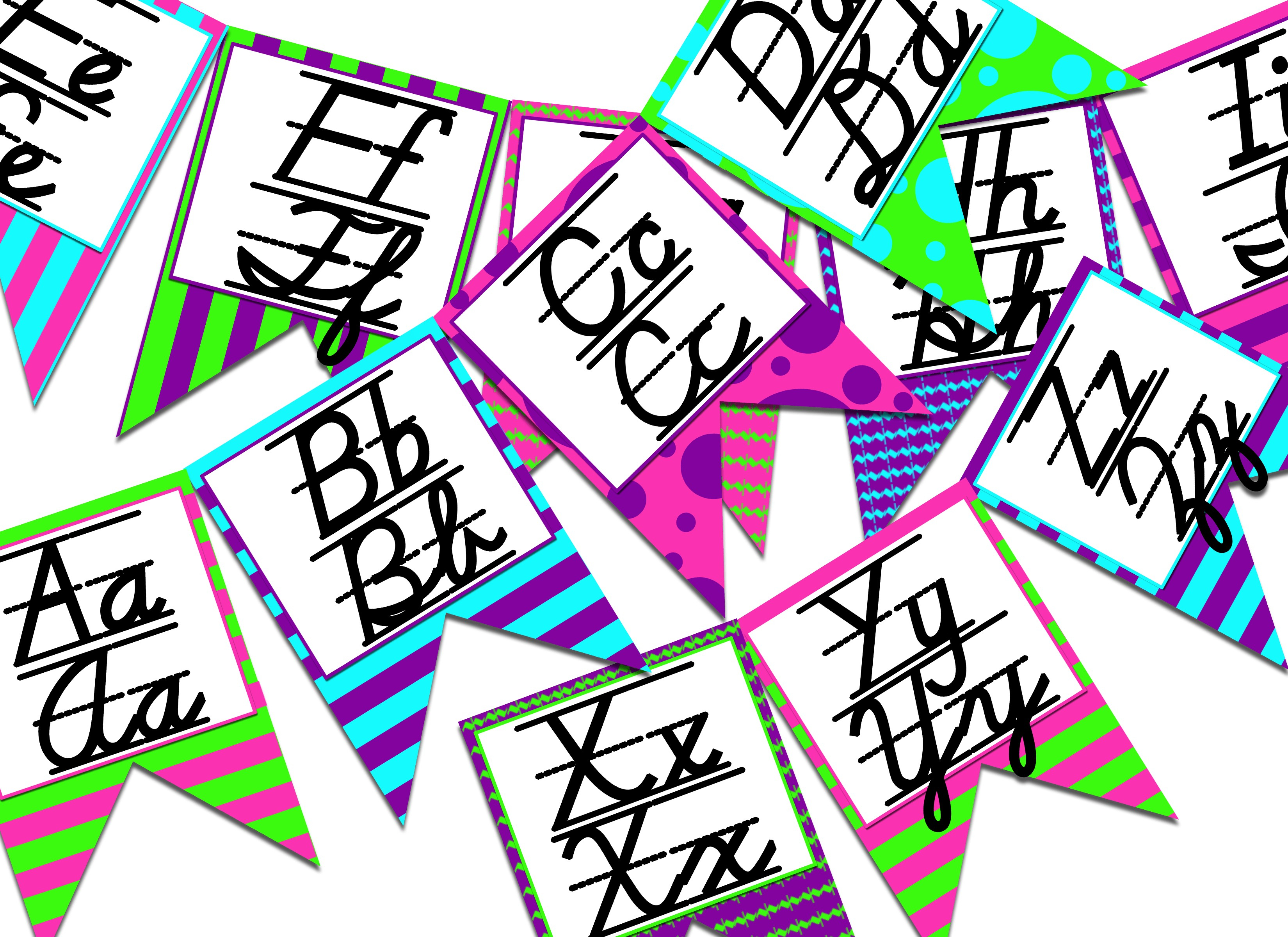 Free Printable Bulletin Board Letters Free Printable