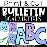 Free Printable Bulletin Board Letters Pdf That Are Crush