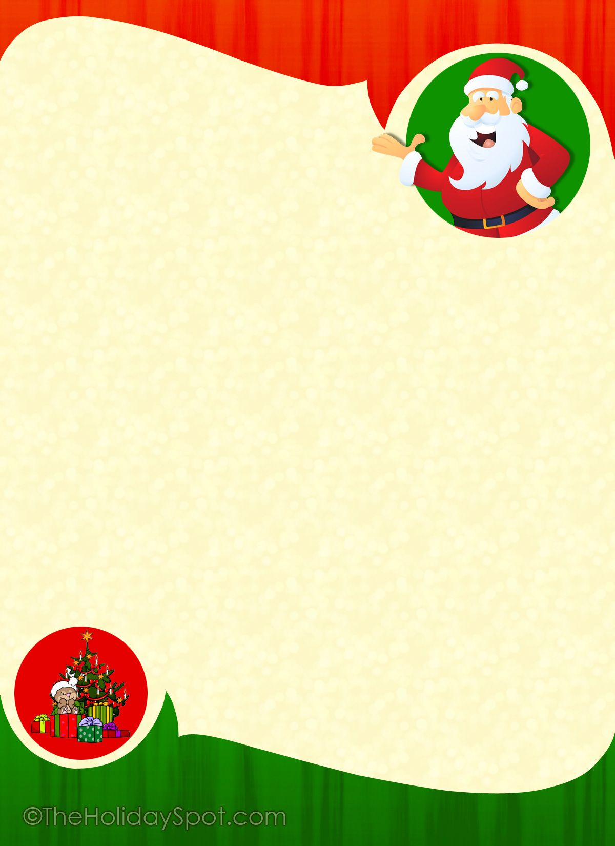 Free Printable Christmas Borders For Letters Google