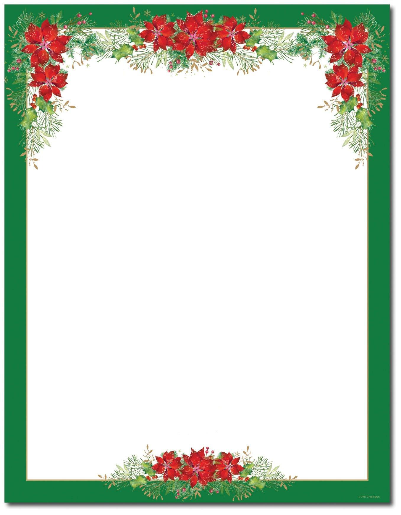 Free Printable Christmas Stationary Paper Free Printable