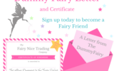 Free Printable Dummy Fairy Letter The Fairy Nice Trading