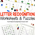 Free Printable Letter Recognition Worksheets And Puzzles