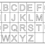 Free Printable Letters Activity Shelter