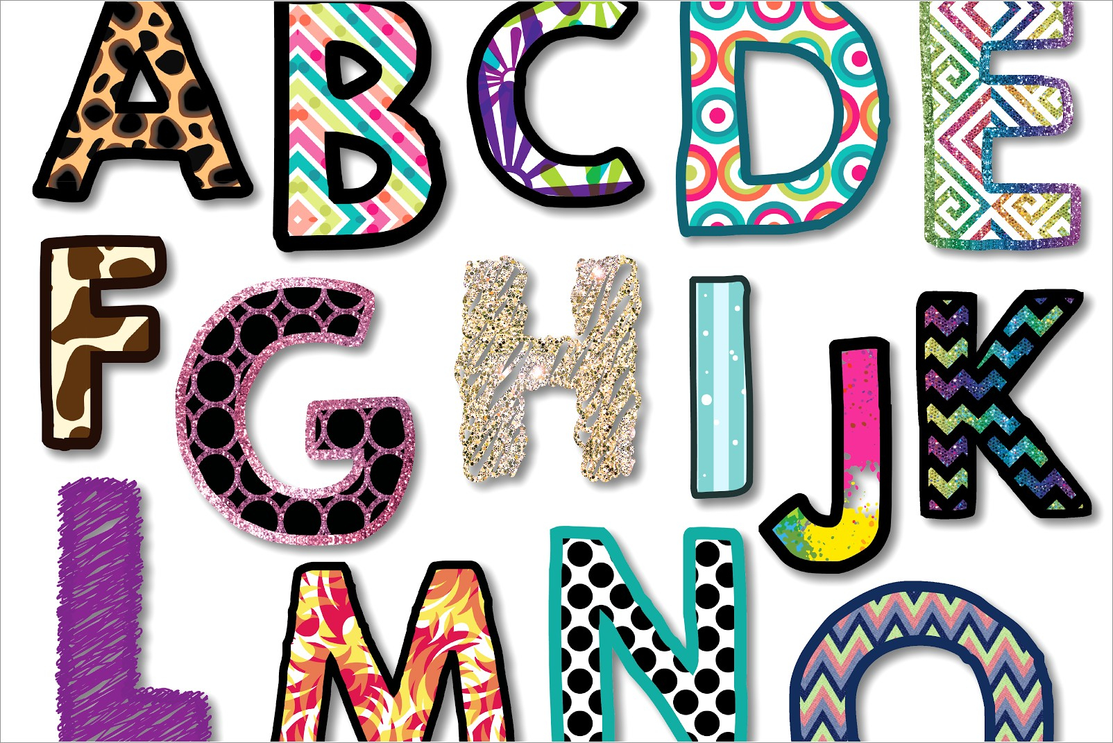 Free Printable Letters For Bulletin Boards