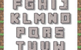 Free Printable Minecraft Letters Google Search