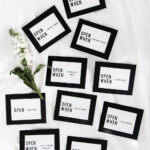 Free Printable Open When Envelope Labels