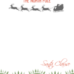 Free Printable Santa Letter Urgent Message From The