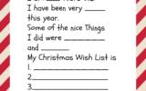 Free Printable Santa Letters For Kids